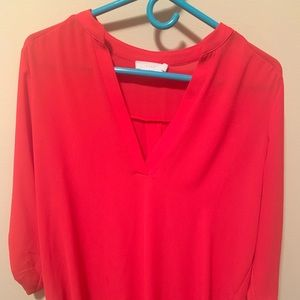 Lush Blouse, Red
